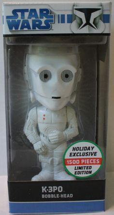 """(TAS021175) - Funko Star Wars """"K-3PO"""" Bobble Head"""