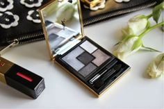 The Sunday Girl :Scottish Make-Up and Beauty Blog: YSL Couture Palette in 1 Tuxedo Review - Summer Look 2014