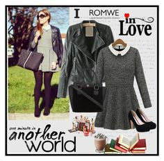 """Romwe 10/VII"" by merima-p ❤ liked on Polyvore featuring women's clothing, women's fashion, women, female, woman, misses and juniors"