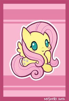 Fluttershy by ~Mishiri Source: mishiri. Dessin My Little Pony, Mlp My Little Pony, My Little Pony Friendship, Friendship Games, Fluttershy, Baby Pony, Little Poney, Imagenes My Little Pony, My Little Pony Pictures