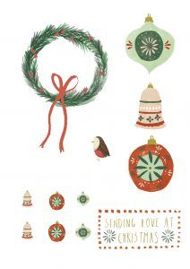 Free Christmas printables from Papercraft Inspirations 183 - Papercraft Inspirations Diy Christmas Cards, Christmas Paper, Christmas Crafts, Christmas Ornaments, Xmas, Free Christmas Printables, Free Printables, Craft Shop, Printable Paper