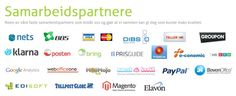 A collection of all our awesome partners! #partnership #win-win #TilsammenErViStarke #ehandel