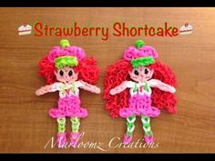 Rainbow Loom Strawberry Shortcake - Updated Tutorial