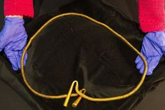 The giant golden torc uncovered in Cambridgeshire