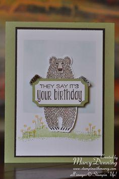 Bear Hugs, Suite Sayings, Stampin' Up!