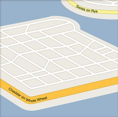 Christoph Niemann - Map Life