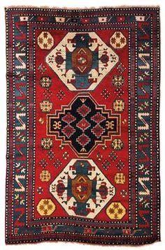 Caucasian Kazak Lori Pambak - Late 19th Century