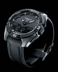Tissot T Touch Expert Solar Watch Released watch releases Tissot T Touch, Sport Watches, Cool Watches, Watches For Men, Casual Watches, Unique Watches, Luxury Watches, Rolex Watches, Tissot Mens Watch