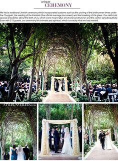 forrest wedding setting