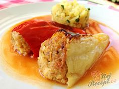 Czech Recipes, Meatloaf, French Toast, Soup, Snacks, Dishes, Breakfast, Thermomix, Red Peppers