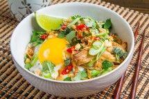 Spicy Peanut Chicken Rice Bowl (PunchFork Chicken)