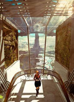 Sci-Fi,art,арт,красивые картинки,Christian Hecker