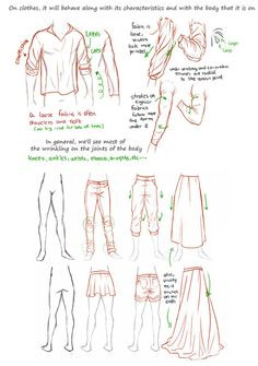 How to draw folds