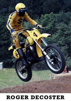 Motorcross, Motocross Bikes, Vintage Motocross, Suzuki Bikes, Halcyon Days, Dirtbikes, Vintage Bikes, Bike Stuff, Hare
