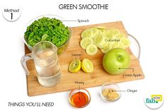 green smoothie to detoxify body things need
