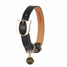 lilo leather dog collar black $80.00