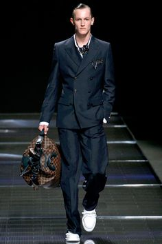 Louis Vuitton  - Spring 2013 Menswear