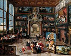 Frans Francken and Cornelis de Baellieur, Cabinet of Curiosities