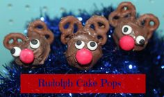 A Strong Coffee: Rudolph Cake Pops