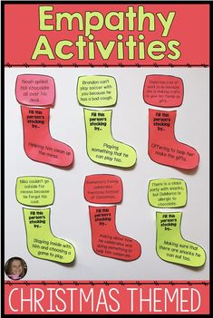 Empathy Activities For Winter Social Skills and Character Education Lessons - - Social Skills Activities, Counseling Activities, Art Therapy Activities, Activities For Kids, Therapy Ideas, Elementary Counseling, School Counseling, Character Education Lessons, School Social Work