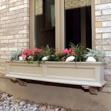 planter hiding counter in front of low window