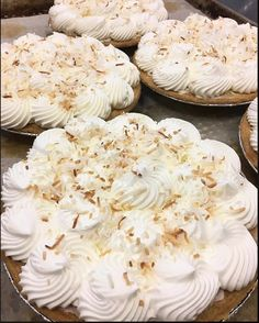 A great bakery that makes everything in house. Pumpkin Spice Cookies, Thanksgiving Treats, Coconut Cream, Baked Goods, Camembert Cheese, Donuts, Waffles, Bakery, Cream Pie