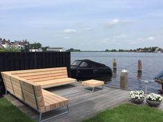 De nieuwe trend op het gebied van tuinmeubels: een design loungebank van douglas hout! Ben je op zoek naar een stoere unieke loungebank?