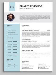 This is Resume Templates is the super clean, The flexible page designs are easy to use and customize, modern and professional Resume templates to help you land that great job, you a need a great…More College Resume Template, Best Resume Template, Resume Design Template, Cv Template, Templates Free, Resume Action Words, Resume Words Skills, Teaching Resume, Resume Writing