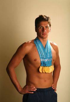 Ryan Lochte: so dumb yet so good looking.  Embarrassed to say I love WWRLD....