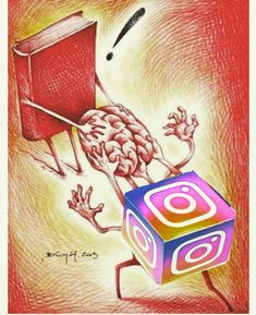 socialmedia instagram Meaningful Art, Poster Making, Satirical Illustrations, Social Media Art, Deep Art, Awareness Poster, Save Water Poster Drawing, Art Painting Gallery, Environment Painting