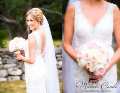 Nahant MA Wedding Michele Conde Photography www.micheleconde.com Massachusetts Oceanside Tent Wedding  Stone Wall Cottage Ocean Pink   (11)