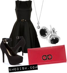 """""""classic little black dress"""" by wulanizer on Polyvore"""