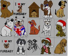 15 x Childrens & Adults Puppy Dog Jumper / Sweater Knitting Jumper Knitting Pattern, Knitting Charts, Cute Puppies, Dogs And Puppies, Dog Jumpers, Cat Cushion, Pullover, Friends In Love, Fur Babies