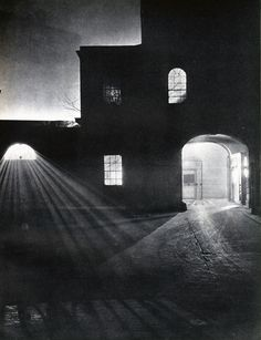 With his collaborator John Morrison, Harold Burdekin photographed the streets of the city of London in the dark for his book London Night, published in...