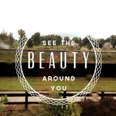 See your inner beauty, don't judge people on appearance.