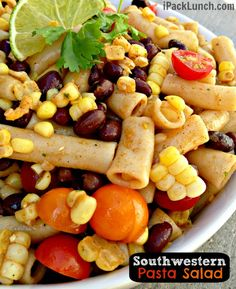 Southwestern Lunch in a Box {Gluten-Free}! Great recipe for Southwest Vinegarette