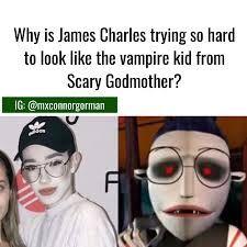 Image Result For James Charles Memes James Charles Charles Meme Scary Godmother
