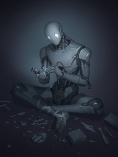 I have definitely considered the blank facial features Arte Robot, Robot Art, Character Concept, Character Art, Fantasy Character, Cyberpunk Kunst, Android Art, Android Watch, Wallpapers Android