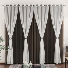 cortina com blecaute de voal- oferta - Pesquisa Google