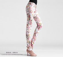 new 2016 women vintage Slim floral cotton jeans casual flower print hot skinny straight denim pencil Pants & Capris white black     Tag a friend who would love this!     FREE Shipping Worldwide     #Style #Fashion #Clothing    Get it here ---> http://www.alifashionmarket.com/products/new-2016-women-vintage-slim-floral-cotton-jeans-casual-flower-print-hot-skinny-straight-denim-pencil-pants-capris-white-black/