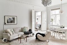 You Have To See This Dreamy Scandinavian Apartment