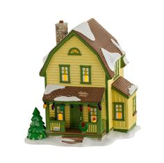 Department 56 A Christmas Story Village Farkus House Retired 4029247 Christmas In The City, Christmas House Lights, Christmas Train, A Christmas Story, Christmas Home, Christmas Ideas, Xmas, Villas, Light Decorations