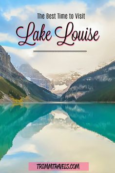 Comparison photos and information from all 4 seasons to help you determine the best time of year to visit Lake Louise in Alberta, Canada! Canada Destinations, Amazing Destinations, Toronto Canada, Montreal Canada, Banff Alberta, Alberta Canada, Alberta Travel, Quebec, Newfoundland Tourism