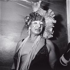 Transvestite at a Drag Ball, New York City, 1970 ~ Gelatin silver  DIANE ARBUS (American, 1923-1971)