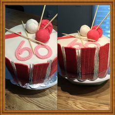 Knitting cake / Stricktorte