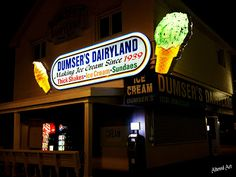 Soft serve or hand dipped? At Dumser's in Ocean City it's a tough choice!
