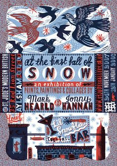 At The First Fall of Snow. Mark Hearld and Jonny Hannah.