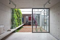Patio interior moderno