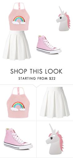 """""""Toddler"""" by mgonzalex on Polyvore featuring Boutique Moschino, Converse and Miss Selfridge"""