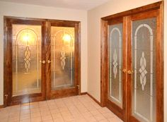 Feather River Door's Monaco Interior Double Doors.